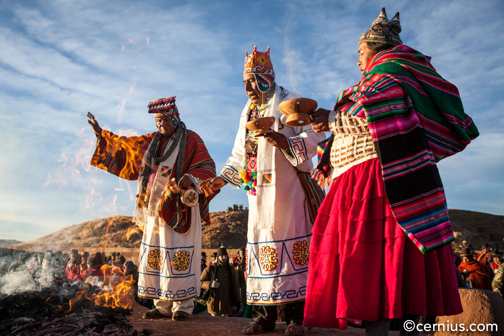 Solstice Celebrations in Bolivia, 2012 | Juozas Cernius
