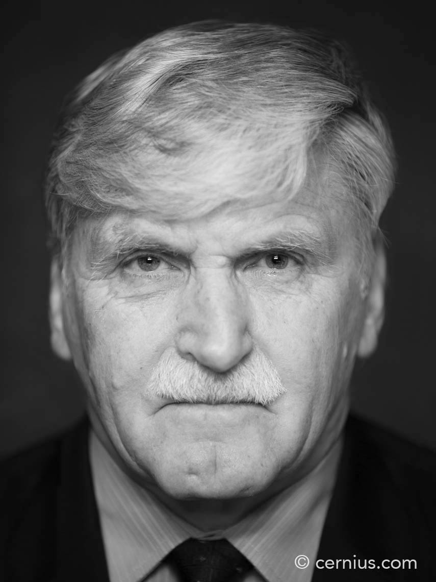 Portrait of Romeo Dallaire | Juozas Cernius