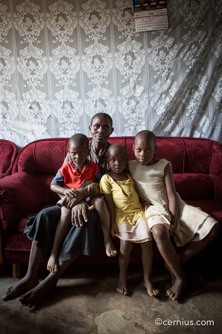 Family Portrait in Kisumu, Kenya