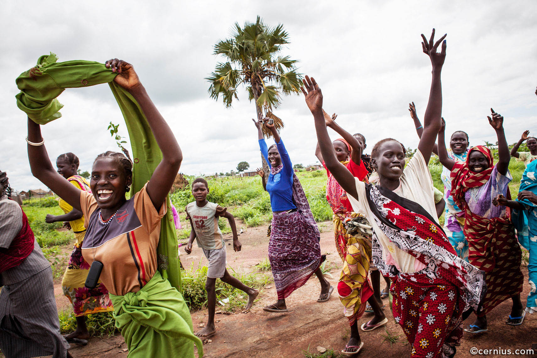 Joy of Life in South Sudan | Juozas Cernius