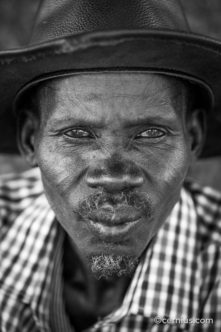 Portrait from South-Sudan | Juozas Cernius