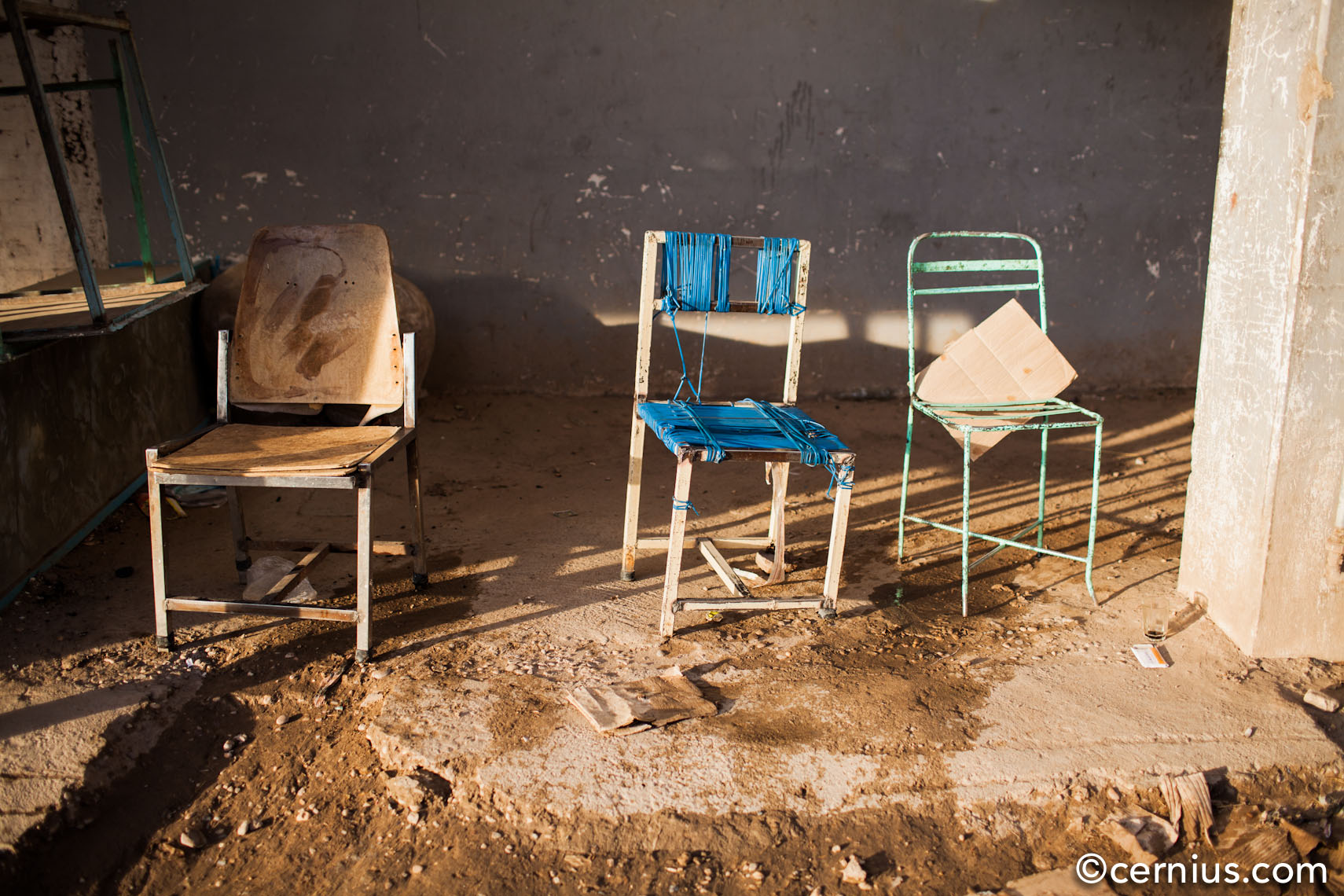 Still Chairs, Sudan | Juozas Cernius