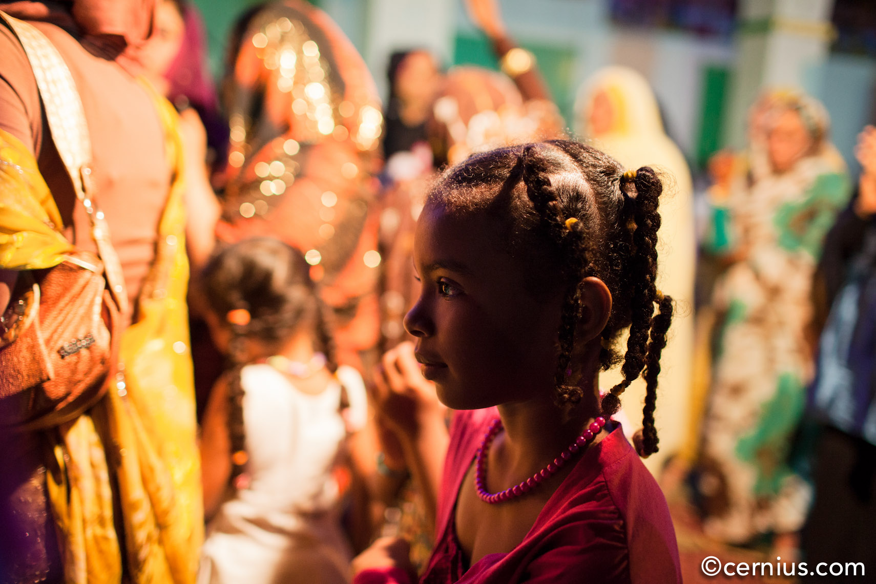 Young girl at a wedding in Port Sudan | Sudan